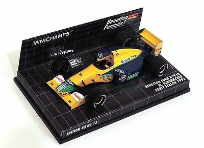 Minichamps Benetton Ford B 191 B Michael Schumacher 1991 Very Rare 1:43