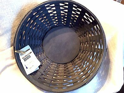 2016 PEWTER GRAY Buffet Bowl Basket Longaberger New Protector available