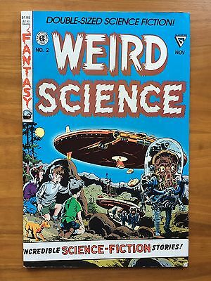 Weird Science Number 2  Science Fiction Comic Fantasy Science Aliens