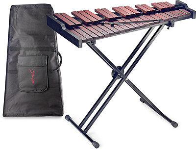 New Stagg XYLO-37 Zylophone Set Includes Stand and Carry Bagg