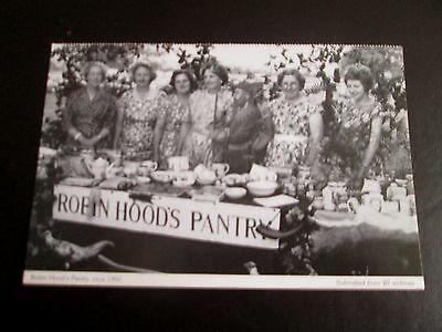 Postcard - Robin Hoods Pantry - Nottinghamshire Federation of Women's Institute
