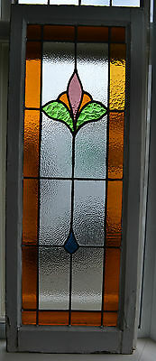 Art deco leaded light stained glass window. R369b. WORLDWIDE DELIVERY!!!