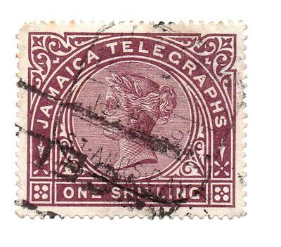 Stamp from Jamaica, Queen Victoria