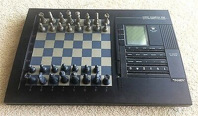 Tandy Chess Champion 2150 Electronic Chess Computer with LCD Display