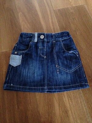 Next Denim Skirt Age 2-3 Years