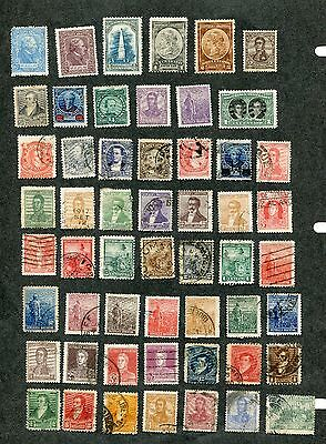 Stamp Lot Of Argentina, Unchecked (2 Scans)