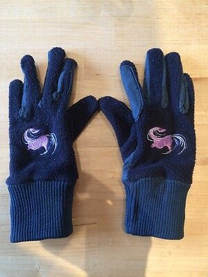 childs horse riding gloves