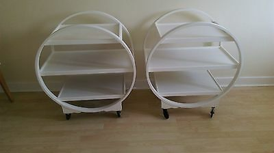 Pair of Art Deco Savoy Cocktail / Trolley,
