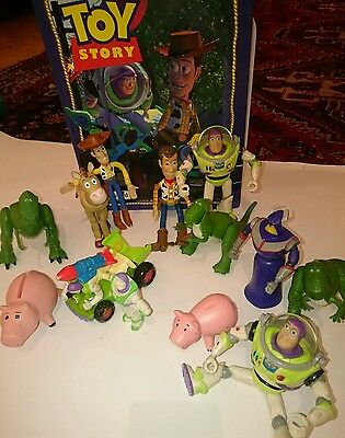 Disney Toy Story bundle of toys and book