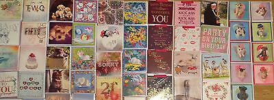 Wholesale 400 Top Quality Greeting Cards, Brand New & Wrapped +Free Gift