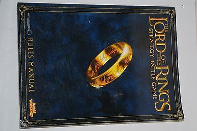 Lord of the Rings/ Hobbit - LOtR Strategy Battle Game Rules Manual