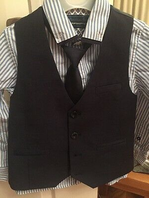 Next Formal Tie Shirt Waistcoat Set For Boys Age 4 Years