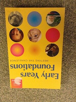 Early Years Books. Early Years Foundations. Moyles