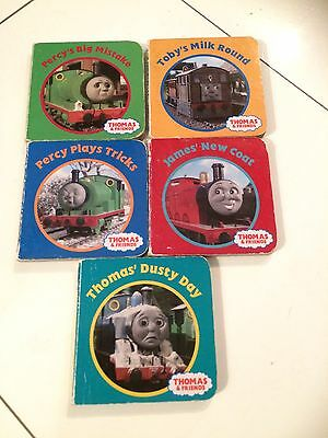 5 Small Hard Back Thomas The Tank Engine Books