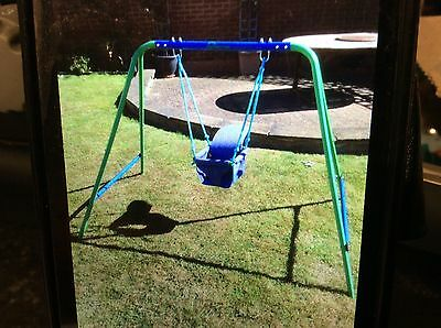 'Kid Active' baby toddler swing with attachments