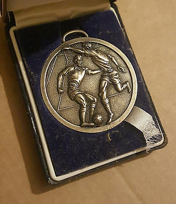 Vintage 1940s Football Sports Medals