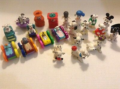 McDonald's Disney 101 DALMATIONS Figures lot of 21 from 1990's - Preowned
