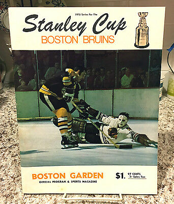 May 10, 1970 Stanley Cup Finals Game 4 Program - Bobby Orr Wins It !!! Near Mint