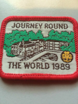 Girl Guides / Scouts Journey round the World 1989