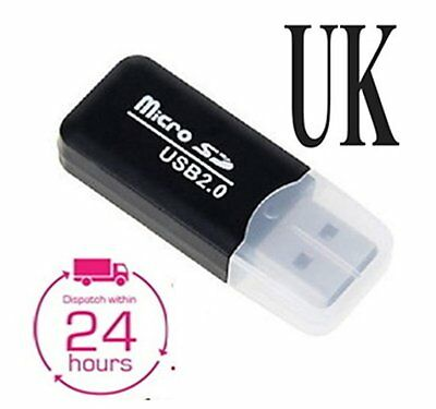 High Speed Mini Usb 2.0 Micro SD TF Memory Card Reader Adapter  sent same day