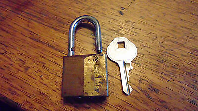 The Club Padlock with a key