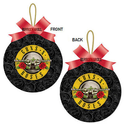 Guns N Roses Collectible: GNR Logo 2014 Christmas Tree Ornament (Axl Rose)
