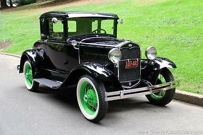 1931 Ford Model A Deluxe 1931 Ford Model A Deluxe Rumble Seat Coupe. EXCEPTIONAL! See VIDEO