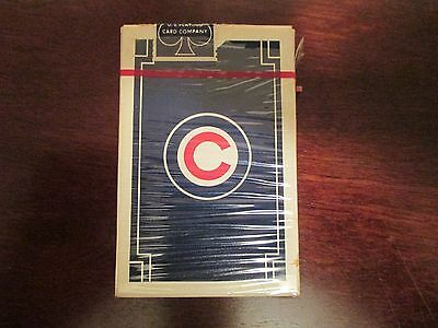 Vintage Chicago Cubs Playing Cards
