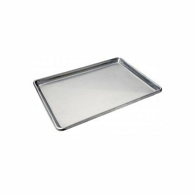 "Foodservice Heavy Duty Full Size Sheet Pan, Stainless Steel, 18"" x 26"", 18 guage"