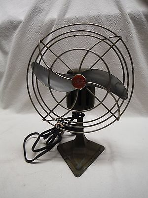 Vintage Darnell Labs Air Master Airplane Type Desk Table Electric Fan