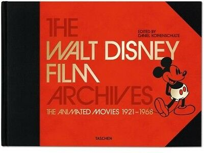 The Walt Disney Film Archives: The Animated Movies 1921-1968 by Taschen Publishi