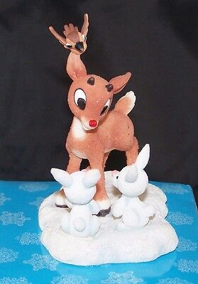 "Rudolph Misfit Toys Reindeer Sitting ""Friends For All Seasons"" 725005 Retired"