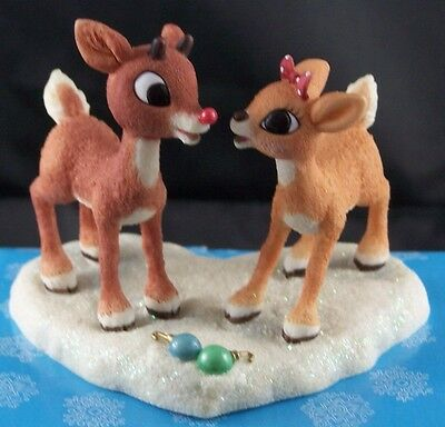 Enesco Rudolph Island of Misfit Toy Figurine Dreams Come True Together #557323