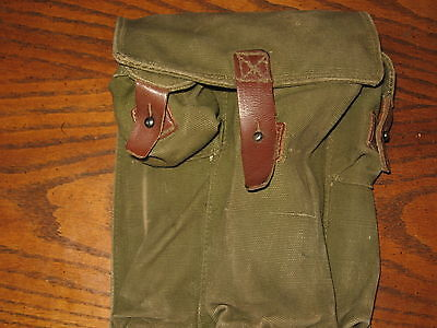 Romanian military surplus 3 cell mag pouch ak
