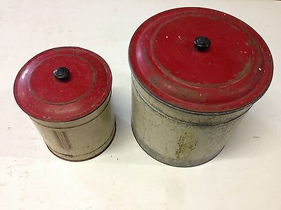 1950's Vintage Kitchen Canisters