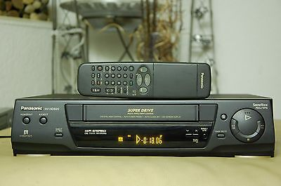 Panasonic NV-HD620 6-Kopf Videorecorder Videorekorder ShowView PAL/NTSC VHS