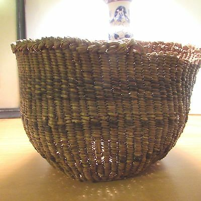 "Antique Vintage Southwest Native Basket 6"" x 7"" As is"