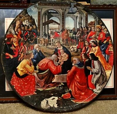 Vintage Springbok Jigsaw Puzzle Adoration Magi, by Ghirlandaio - C935 COMPLETE