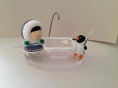 HALLMARK Frosty Friends Ornament 1996 with box.  EXCELLENT Condition