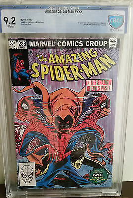 Amazing Spider-Man #238 CBCS 9.2 Double Cover! 1st Hobgoblins With Tattooz