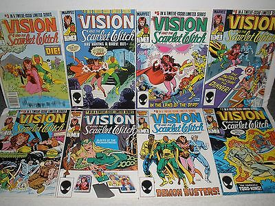 Marvel Comics Vision & the Scarlet Witch # 3 4 5 6 7 8 9 10 High Grade 8.5-9.2