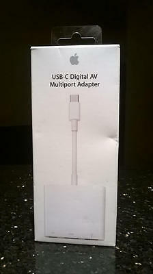 Apple USB - C Digital AV Multiport Adapter MJ1K2AM/A A1621