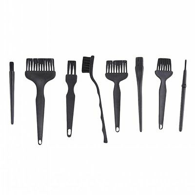 8Pcs Anti Static Cleaning Brush For PCB Cellphone Handle Conductive Ground ESD