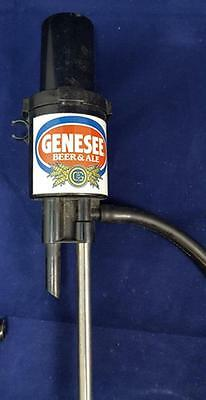 Vintage Genesee Beer & Ale Keg Tap Pump Great Addition  Man Cave Bar Collection