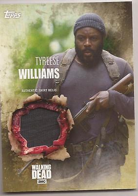 2016 Topps Walking Dead Season 5 Costume Relic Tyreese Williams