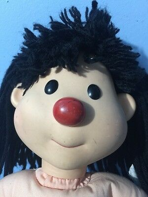"""Big COMFY Couch ViNYL MOLLY doll 14"""" THOUGHT bubble MOLLY (no thoughts)"""