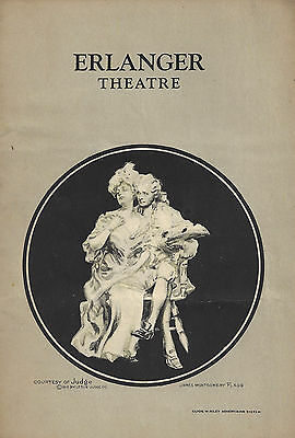 "Marx Brothers (Bros.) ""THE COCOANUTS"" Irving Berlin 1926 Chicago Playbill"