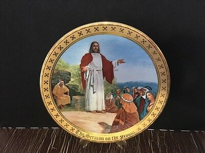 The Ten Commandents Plate Collection THE SERMON ON THE MOUNT Danbury Mint