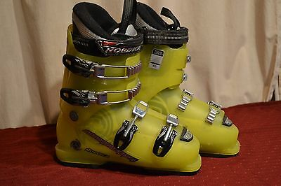 Nordica Supercharger Used Youth Ski Boots 277mm