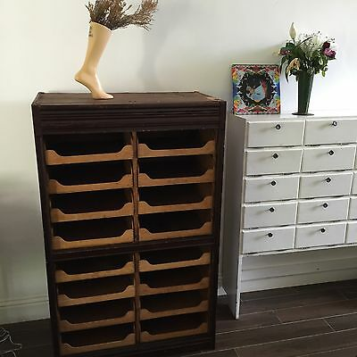 Haberdashery Cabinet - Delivery Available At Cost